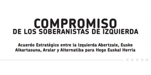 Compromiso de los soberanistas de izquierda (1/6/2012)